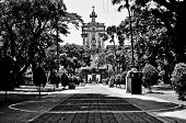 stock photo of tomas  - THe main building of University of Santo Tomas in the Philippines - JPG