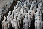 pic of cultural artifacts  - Terracotta warriors  - JPG