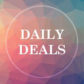 Daily Deals Icon poster