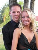 Prom Couple Outdoor