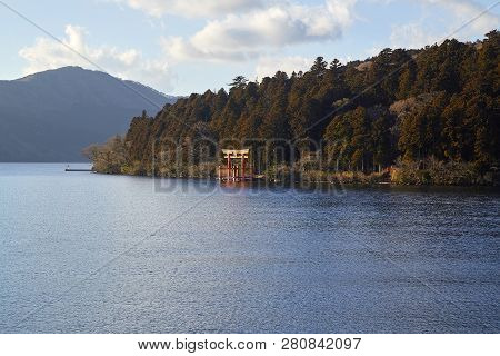 Lake Ashinoko Hakone Japan