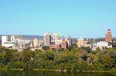 picture of dauphin  - Harrisburg skyline - JPG