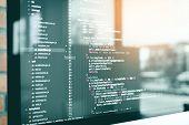 Code Development Web Code Technology Program Programming Html Screen Script. poster
