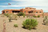 stock photo of paleozoic  - Painted Desert Visitor Center - JPG