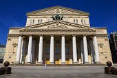 Moscow, Russia.state Academic Bolshoi Theater In Moscow .built In 1776 poster