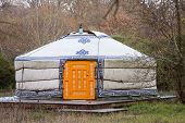picture of yurt  - Close - JPG