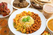 pic of nasi  - Indian food biryani rice - JPG