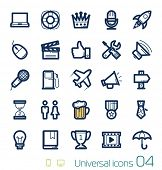 stock photo of karaoke  - Universal icons set Perfect lines 04 - JPG