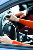 stock photo of driving school  - Driving School  - JPG