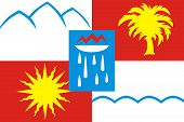 stock photo of sochi  - Flag of Sochi  - JPG