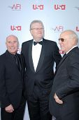 David Geffen and Sir Howard Stringer  at the 36th AFI Lifetime Achievement Award Tribute To Warren B