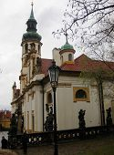 The Loreta monastery in Prague, Czech Republic