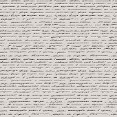 picture of classic art  - Handwriting - JPG