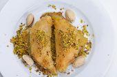 stock photo of baklava  - traditional dessert turkish baklava - JPG
