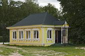 stock photo of uglich  - The beautiful wooden house at Uglich kremlin - JPG