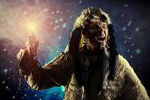 stock photo of pagan  - Ancient warrior Barbarian - JPG
