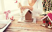 pic of gingerbread house  - cooking - JPG