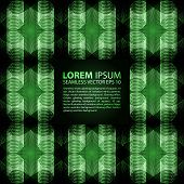 picture of viking  - Abstract seamless blue green metallic viking like pattern - JPG