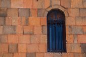 picture of armenia  - Photo of the window and wall of church in Armenia