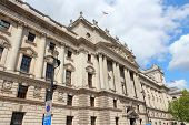 picture of treasury  - London England  - JPG
