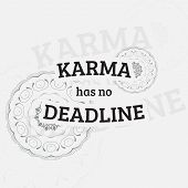 image of karma  - Karma has no deadline - JPG