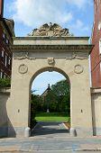 pic of mater  - Brown University main gate - JPG
