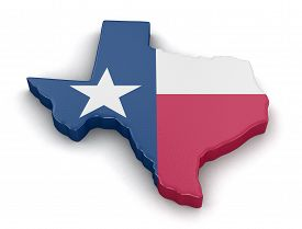 picture of flags world  - Map of Texas state with flag - JPG