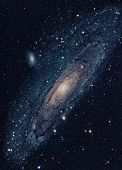 The Andromeda Galaxy Is A Nearest Spiral Galaxy To The Milky Way poster