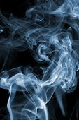 image of cigarette-smoking  - Cigarette smoke background  - JPG
