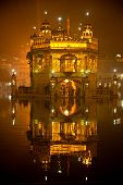 stock photo of granth  - Details of Golden Temple in Amritsar Punjab India - JPG