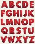 image of grammar  - 3D vector alphabet - JPG