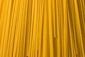 Macro Shot Of Spaghetti poster