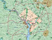 Washington Dc Metropolitan Area Map