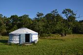 stock photo of nomads  - Yurt  - JPG
