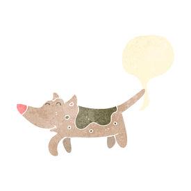 pic of fart  - retro cartoon farting dog - JPG