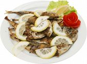 Grilled tasty fish