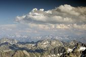 foto of breathtaking  - breathtaking view of pyrenees from pic du midi in france - JPG