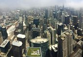 foto of willy  - A panorama of Chicago from 103 floors high at the Willis Tower Sky Deck - JPG