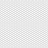 picture of chain link fence  - metal chain link fence seamless on white - JPG