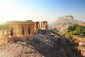pic of mausoleum  - Jodhpur India  - JPG