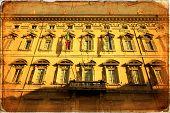 pic of senators  - Rome Madama palace home of the Senate of the Italian Republic - JPG