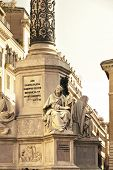 image of piazza  - Column of the Immaculate Conception is a nineteenth - JPG