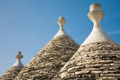 Trulli conical house roof