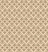 stock photo of native american ethnicity  - Seamless ethnic pattern with figures like Native Americans tipi - JPG