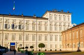 image of turin  - View of the Royal Palace of Turin  - JPG