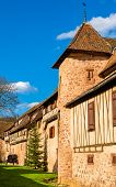 stock photo of guinness  - City walls of Riquewihr  - JPG
