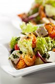 image of lenten  - Salad with Seafood - JPG
