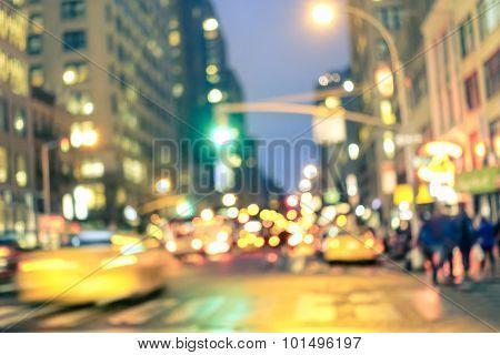 New York City Abstract Rush