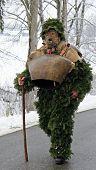 foto of mummer  - St Sylvester mummers  - JPG
