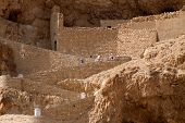pic of jericho  - An ancient Monastery located in Jericho - JPG